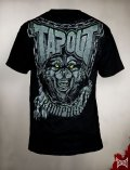 TAPOUT Tシャツ Rampage Howling 黒 US