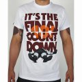 MANTO Tシャツ Count Down 白