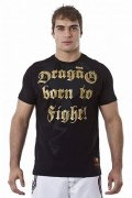 DRAGAO Tシャツ Born To Fight 黒