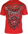 TAPOUT Tシャツ Agent Shield 赤