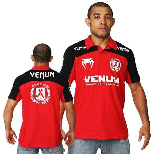VENUM ポロシャツ ジョゼ・アルド UFC156 赤/黒                                     [ve2-3317]