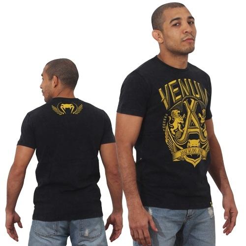 VENUM Tシャツ ジョゼ・アルド Lion 黒/黄                                     [ve2-2327]