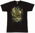 CLINCH GEAR Tシャツ Flourish 黒