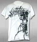 Sinister Tシャツ Spider face 白