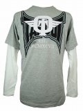 TAPOUT キッズボーイズ ロングTシャツ Dominator Slider グレー