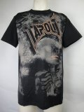 TAPOUT Tシャツ ASHES 黒