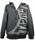 TAPOUT キッズボーイズ ジップパーカー Invert グレー