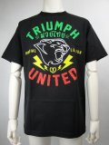 Triumph United Tシャツ BOLTS AS 黒