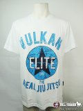 VULKAN Tシャツ OLD SCHOOL STAR 白