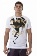 DRAGAO Tシャツ Born To Fight 白
