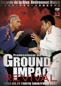 DVD Professional JIU-JITSU GROUND IMPACT REVIVAL
