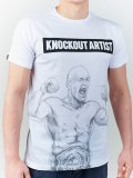 MANTO Tシャツ KNOCKOUT 白
