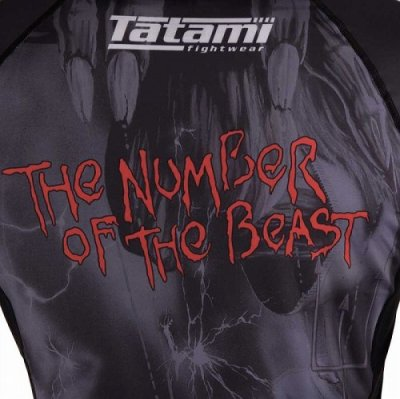 画像4: Tatami ラッシュガード Tatami x Iron Maiden Number of the Beast 長袖