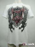 TAPOUT Tシャツ ジェイク・シールズ Eagle Warrior 白
